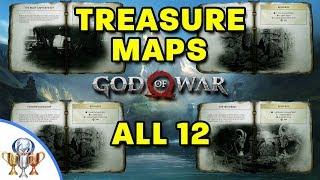God of War – All 12 Treasure Map Locations and Dig Spots – Treasure