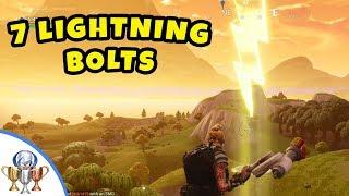 fortnite search 7 lightning bolt locations guide fortnite battle royale season 5 challenge guid ps4trophies gaming - fortnite lightning bolt location