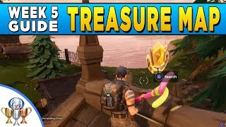 Fortnite Snobby Shores Treasure Map Location Week 5 Challenge