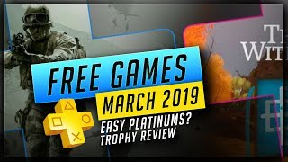 PlayStation Plus March 2019 Free PS4 Games – Free PS+