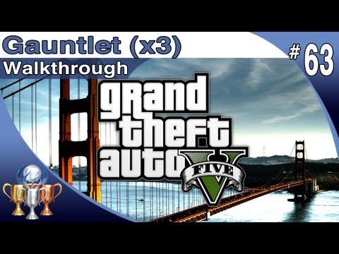 Star Auto Parts >> GTA 5 - ALL 3 Gauntlet locations - Walkthrough Part 63 - Gauntlets with Maps (Grand Theft Auto V)
