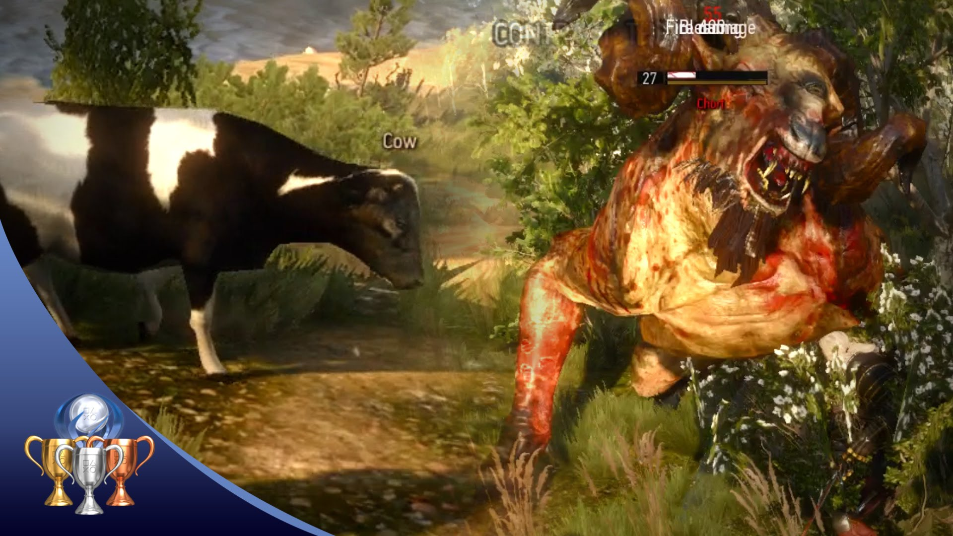 The Witcher 3 - Cow Exploit Hilariously Fixed (Bovine