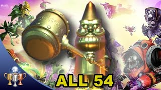Plants vs Zombies Garden Warfare 2 Gnomore - All 54 Gold