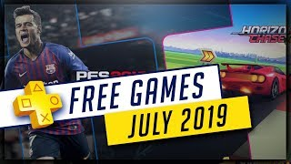 PlayStation Plus July 2019 Free PS4 Games - SPORTS!