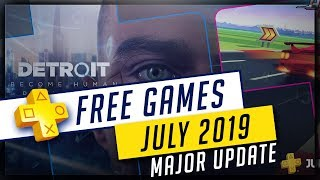 PlayStation Plus July 2019 Free PS4 Games UPDATED - Detroit